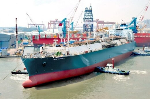 Floating storage and regasification unit Independence