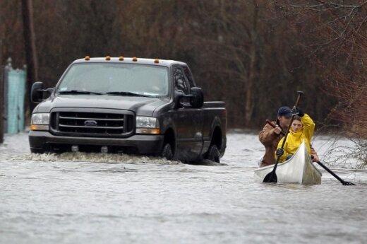 Наводнения на восточном побережье США, есть погибшие