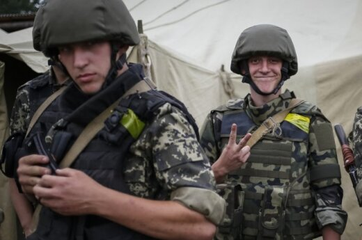 Lithuania to supply Ukraine's forces with helmets and bullet-proof vests