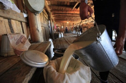 Farmers address President Grybauskaitė over situation in dairy sector