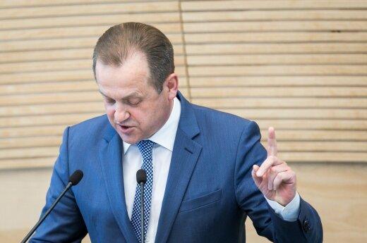 Seimui planuojama pateikti siūlymą tirti A. Skardžiaus veiklą