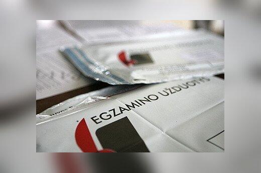 Valstybinio lietuvių k. egzamino rezultatų teks laukti mėnesį