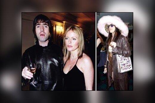 Patsy Kensit, Liamas Gallagheris ir Ivy Silberstein