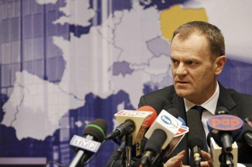 Tusk: Będziemy wspierali wszystkie działania Polaków na Litwie