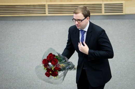 Сейм Литвы утвердил отставку Гапшиса с поста вице-спикера