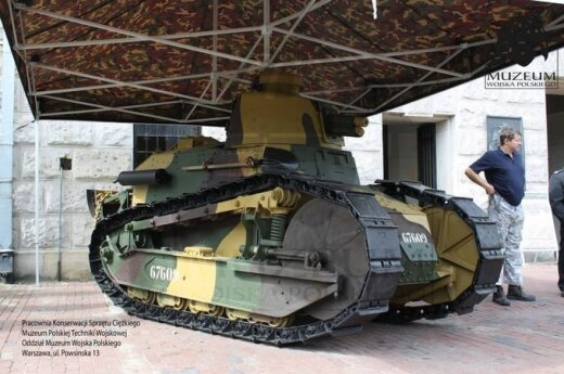 Polski Renault FT-17