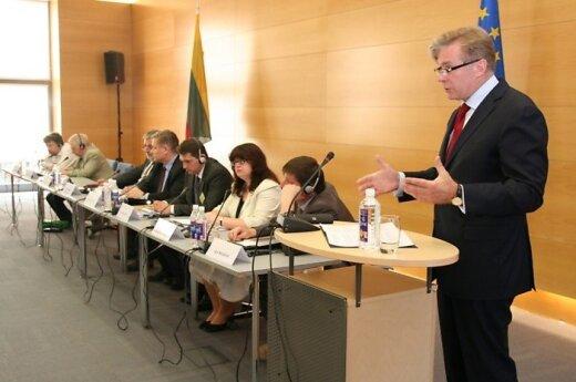 В МИДе прошла дискуссия историков Литвы, Польши, Беларуси и Украины