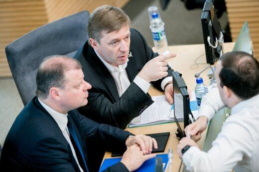 Карбаускис заявил, что соглашение с консерваторами не меняет коалицию