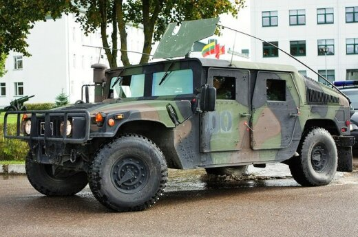 Technika wojskowa z Afganistanu wraca na Litwę