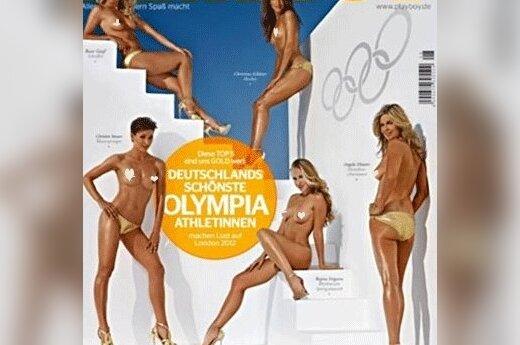Playboy раздел спортсменок олимпийской сборной Германии