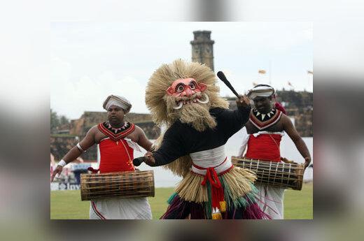Šri Lankos artistų tradicinis šokis