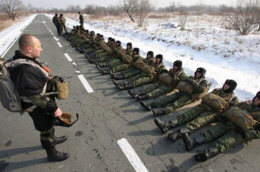 Przy granicy z krajami bałtyckimi rosyjscy desantowcy ćwiczą zajęcie wrogiego lotniska