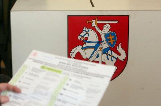 Numery list wyborczych: Liberałowie na pierwszym, AWPL na siódmym, Zuokas na ostatnim