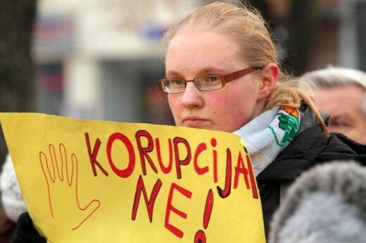 Kauno moksleivių akcija prieš korupciją