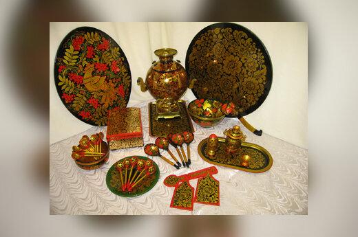 Senosios Rusijos meistrų tapyba (Chochloma)