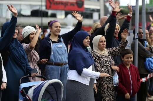 Vilnius to host rally in solidarity with refugees