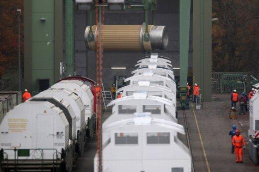 В ФРГ запретили отправку ядерных отходов в Россию