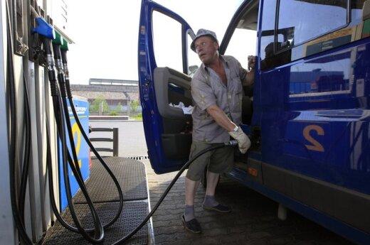 Цены на автомобильное топливо в Беларуси в очередной раз повышаются