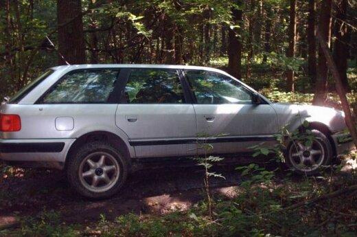Дети сбежали из кризисного центра и угнали Audi