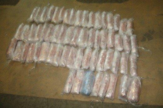 Белорусские пограничники обнаружили в машине литовца 23 кг наркотиков