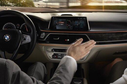 BMW jau siūlo valdymo gestais funkciją