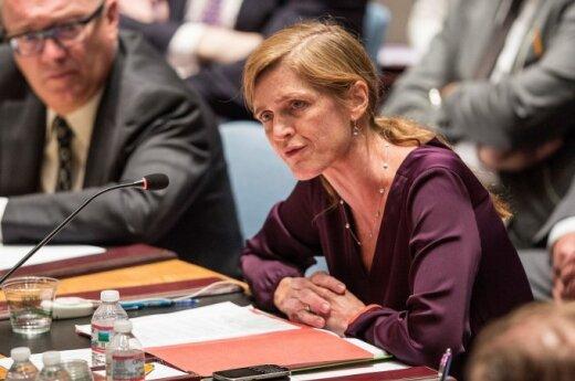 JAV ambasadorė prie JT Samantha Power