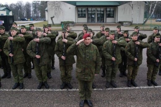 Lithuania's defence minister grants conscription exemption for celebrities