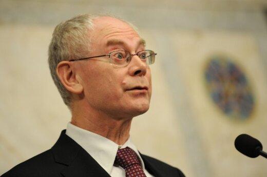 Herman Van Rompuy w Wilnie