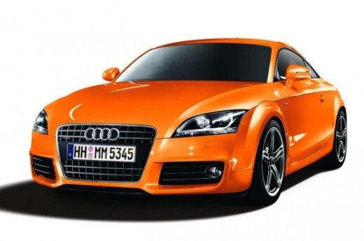 Ribotos serijos Audi TT