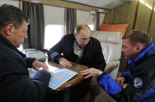 Vladimiro Putino vizitas Kryme