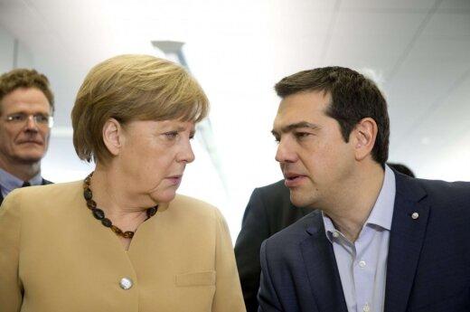 Angela Merkel, Alexis Tsipras