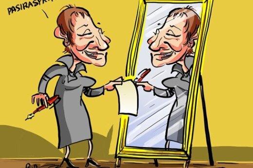 Asta Baukutė, karikatūra