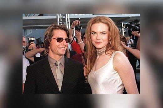 Tomas Cruise ir Nicole Kidman.