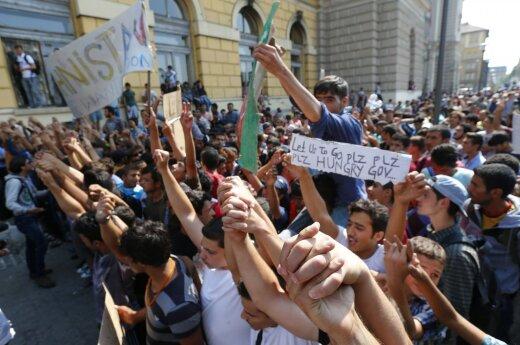 Vyriausybė pritaria 1105 pabėgėlių perkėlimui į Lietuvą