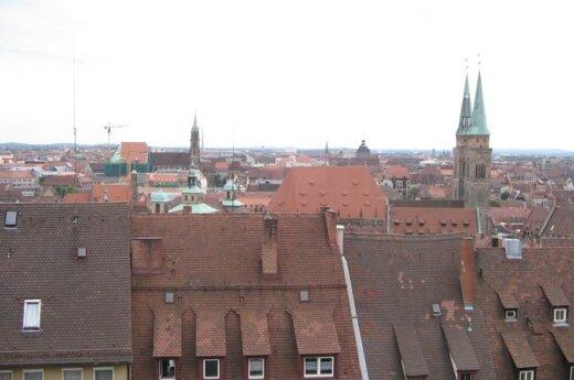 Niurnbergo panorama