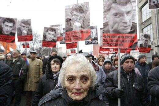 March in Moscow
