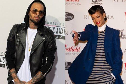 Rihanna rzuciła Chrisa Browna
