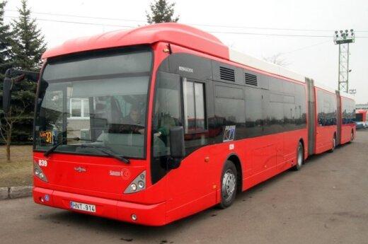 Kauno gatvėse – ilgiausias autobusas Baltijos šalyse