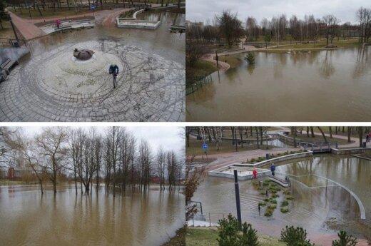 Marijampolės Poezijos parkas. Skaitytojo nuotr.