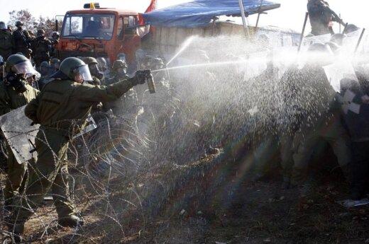 Kosowo: Starcia pomiędzy Serbami i kosowską policją