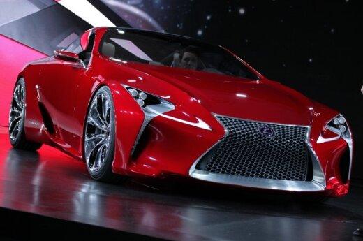Детройт-2012: Lexus дразнит концептуальным суперкаром LF-LC
