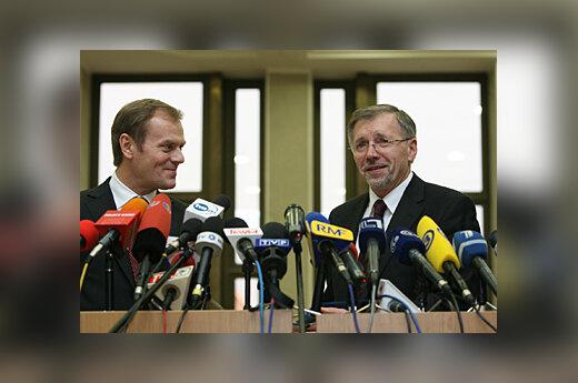 Donaldas Tuskas ir Gediminas Kirkilas