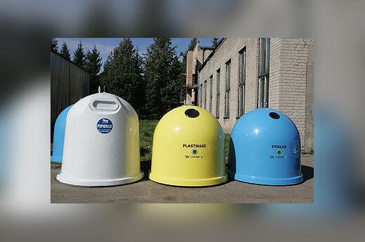 Atliekų surinkimo konteineriai