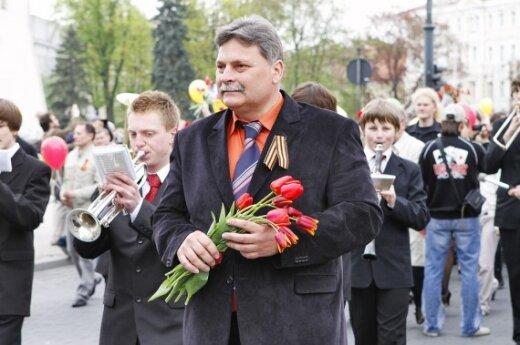 Eitynių organizatorius Sergejus Dmitrijevas