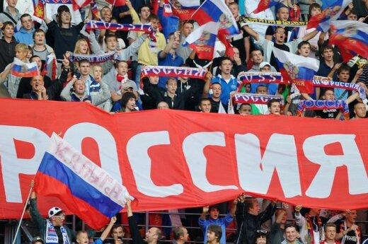 Российские болельщики в Литве миролюбивы