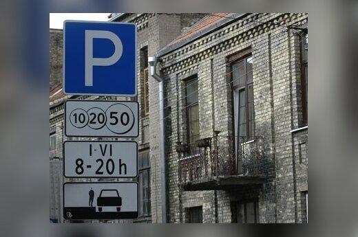 Еще в одном месте Вильнюса придется платить за парковку автомобилей