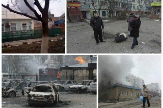 В Мариуполе число жертв увеличилось до 30, ранены 97 человек