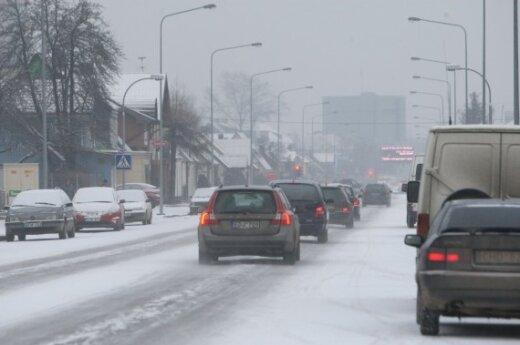 Мэрия: на уборке улиц Вильнюса не экономят