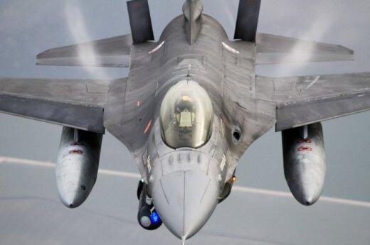Истребители НАТО в понедельник сопроводили два самолета ВВС РФ