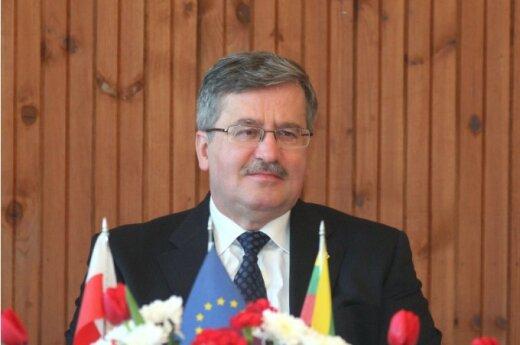 Komorowski apeluje, aby nie demonstrowano w czasie Euro 2012